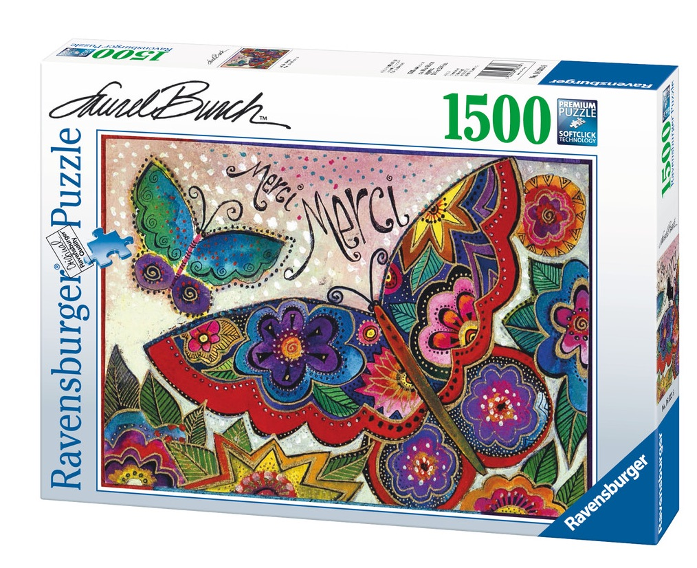 Laurel Burch Mariposas Puzzle by Ravensburger