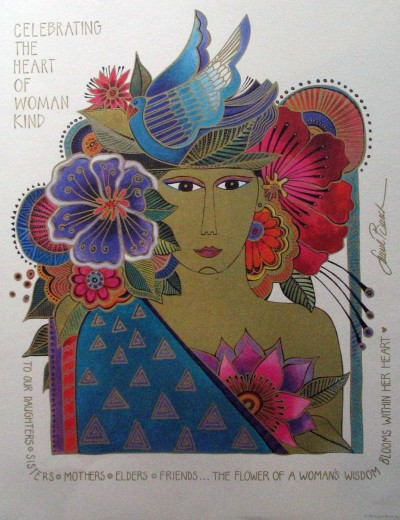 laurel-burch-heart-of-womankind-poster-1994